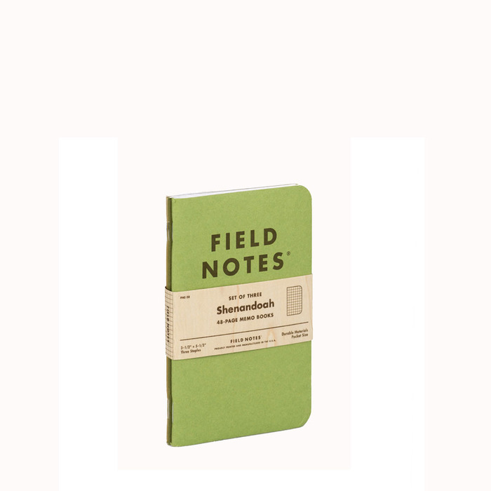 [Field notes] Shenandoah - 3pack (3묶음set)